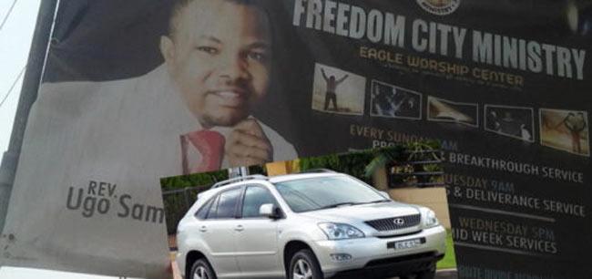 Popular Anambra pastor, Reverend Ugo Sam, nabbed for car stealing