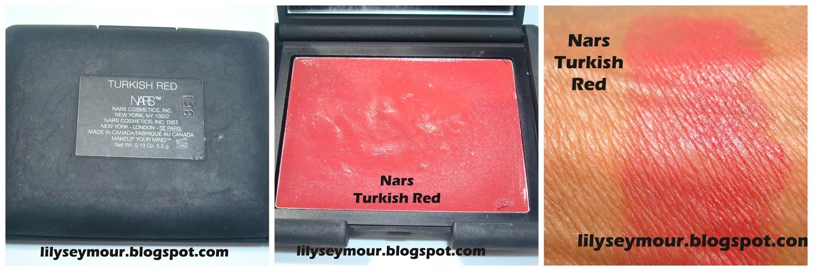 Nars Turkish Red Blush