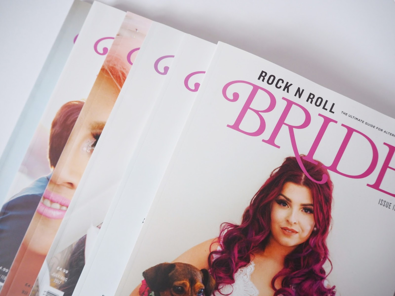 rock n roll bride magazines