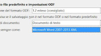 LibreOffice: Salvare file in formato Word (DOCX) Excel e Powerpoint