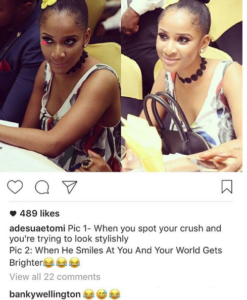 Are we going to witness another marriage between Banky W and Adesua Etomi?