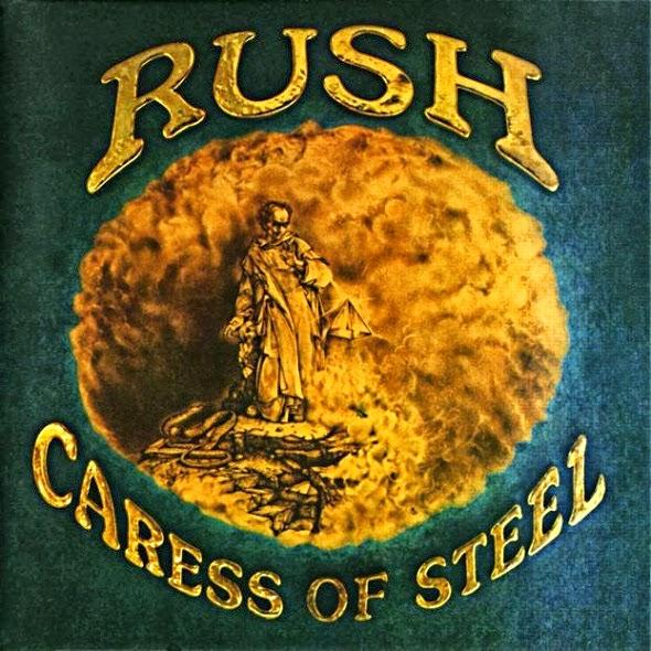 """Ο δίσκος των Rush """"Caress of steel"""""""