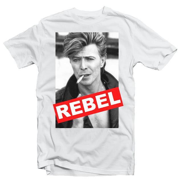 Bowie tshirt design