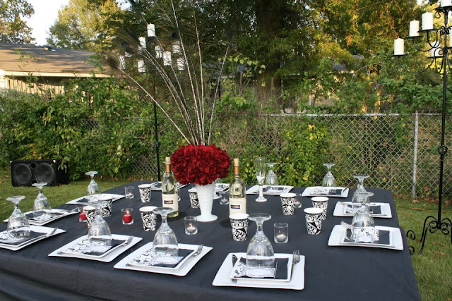 I Made All Of Our Programs Table Numbers And Place Cards Using