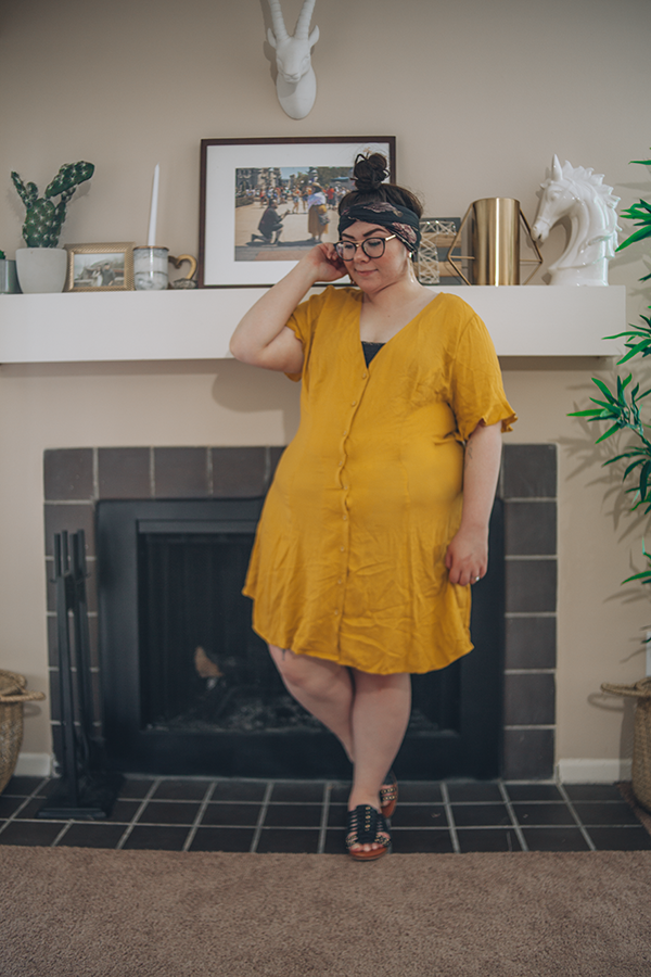 Light and Bright in Mustard Yellow | katielikeme.com outfit fashion summer fashion style