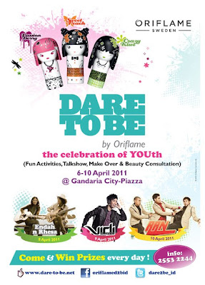 Dare To Be by Oriflame