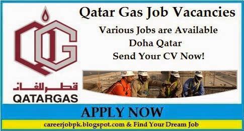 Latest Jobs in Qatar Gas Company Doha