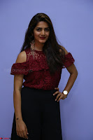 Pavani Gangireddy in Cute Black Skirt Maroon Top at 9 Movie Teaser Launch 5th May 2017  Exclusive 060.JPG