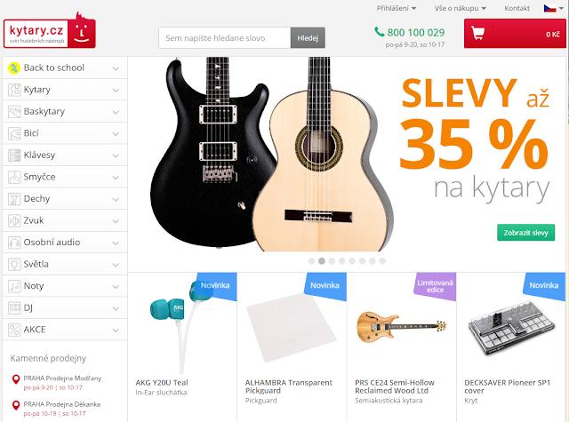 Kytary.cz CashbackWorld Lyoness web