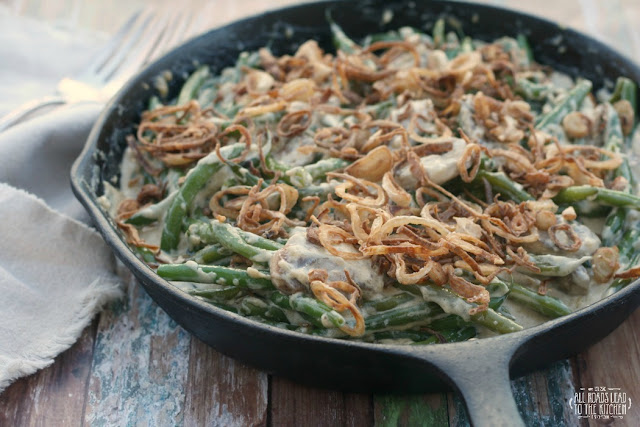 Stovetop Green Bean Casserole by All Roads Lead to the Kitchen