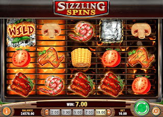 The Sizzling Spins Slot game