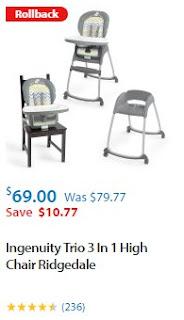 Walmart Baby High Chair The Best List 1