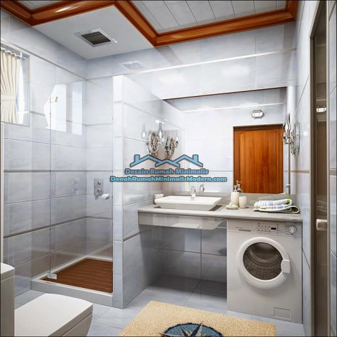 Foto Desain Kamar Mandi Rumah Minimalis Modern Terbaru Indoterbaik Com