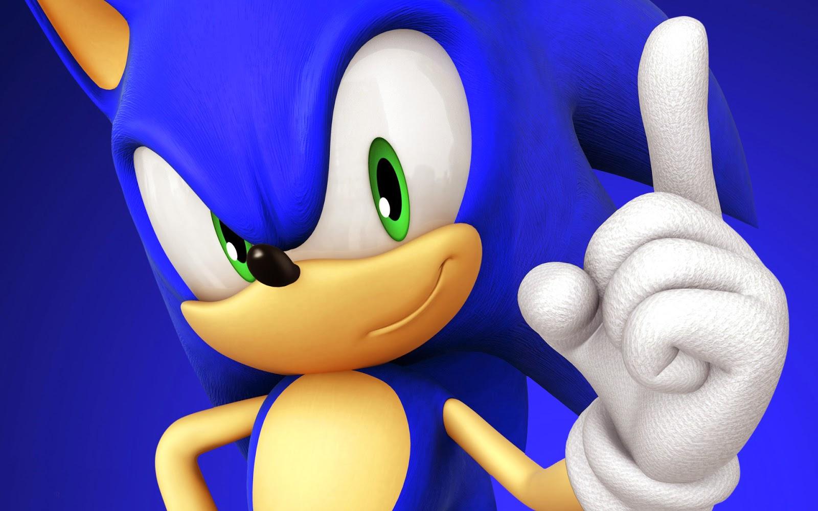 Sonic Wallpaper Atau DP BBM HD Khusus Android 2015