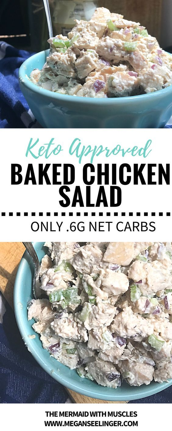 0 CARB BAKED CHICKEN SALAD