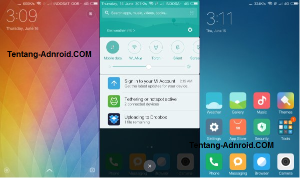 Rom MIUI 8 For Redmi 2 Free Download
