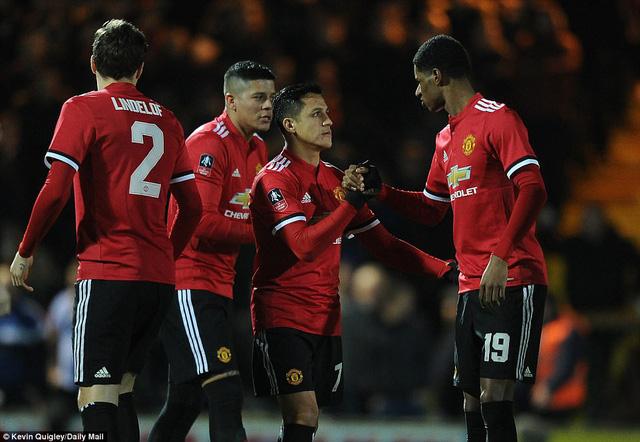 Ở Man United, Sanchez hiện là cầu thủ được Mourinho khen ngợi nhiều nhất