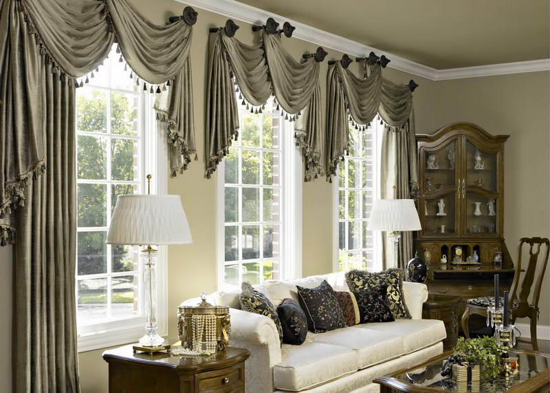 Formal Curtains Living Room Dining Curtain Ideas