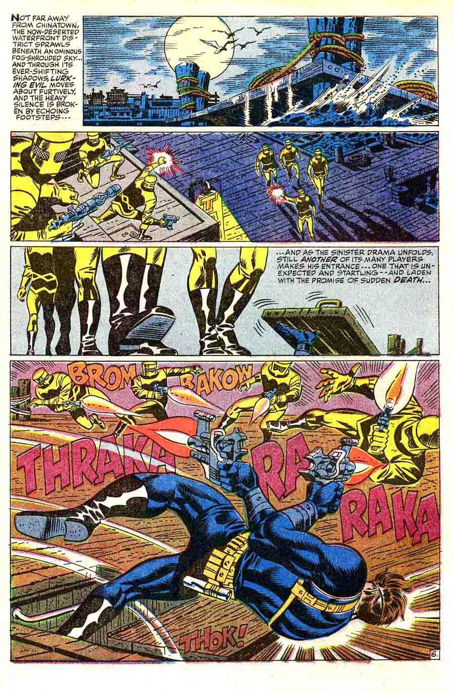 Strange Tales v1 #163 nick fury shield comic book page art by Jim Steranko