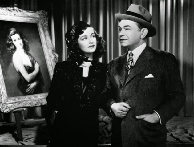 Edward G. Robinson Joan Bennet The Woman in the Window 1944
