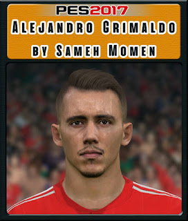 PES 2017 Faces Alejandro Grimaldo by Sameh Momen
