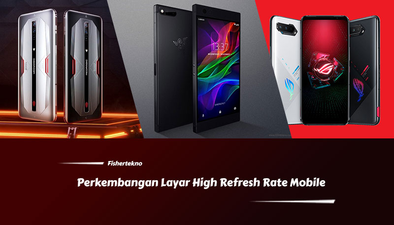 Perkembangan layar high refresh rate mobile