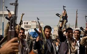 حركة الحوثيين المسلحة  تستهدف سفينة شحن في ميناء المخاء على البحر الأحمر