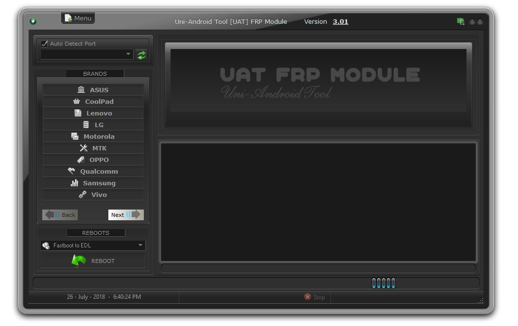 UAT FRP TOOL (Uni-Android) v3 0 1 New Crack All Mobile FRP