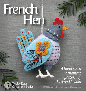 French hen pattern
