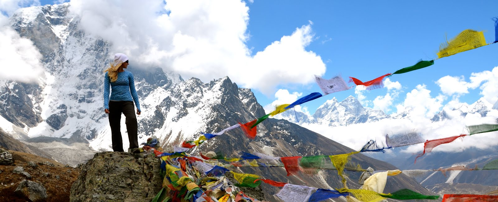 It's my first time to go for  everest base camp trek, it's so amazing journey that I never had before.