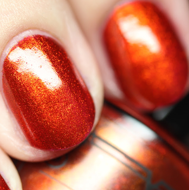 Tonic Nail Polish Lava Lust