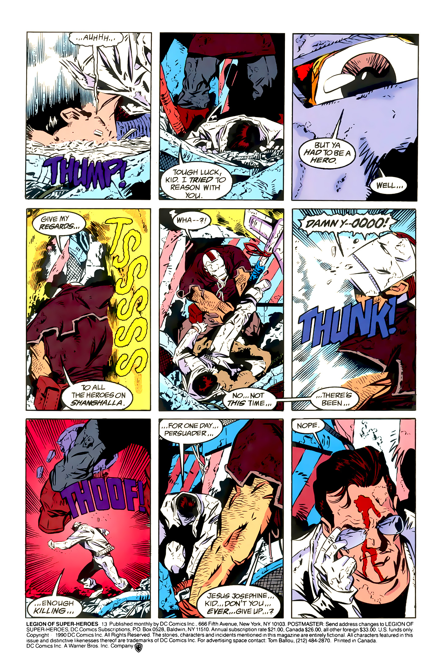 Legion of Super-Heroes (1989) 13 Page 1