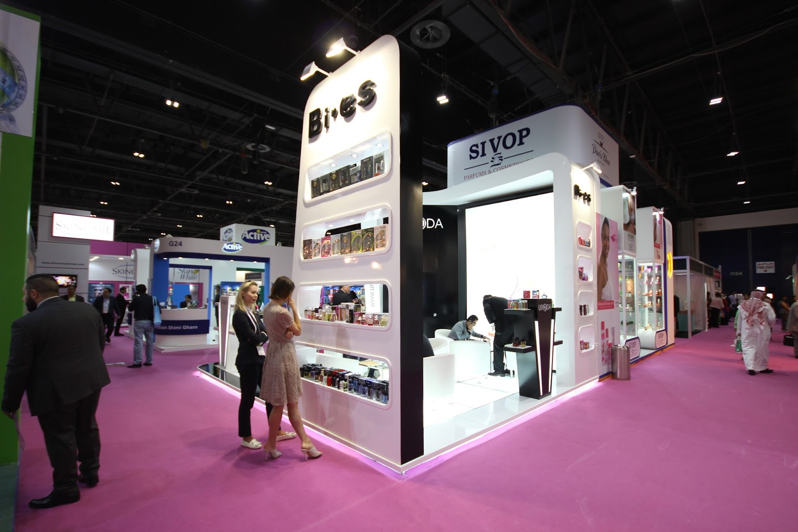 Hair Expo Stands : The bold and beautiful mindspirit beauty world