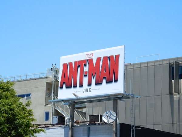 AntMan film billboard
