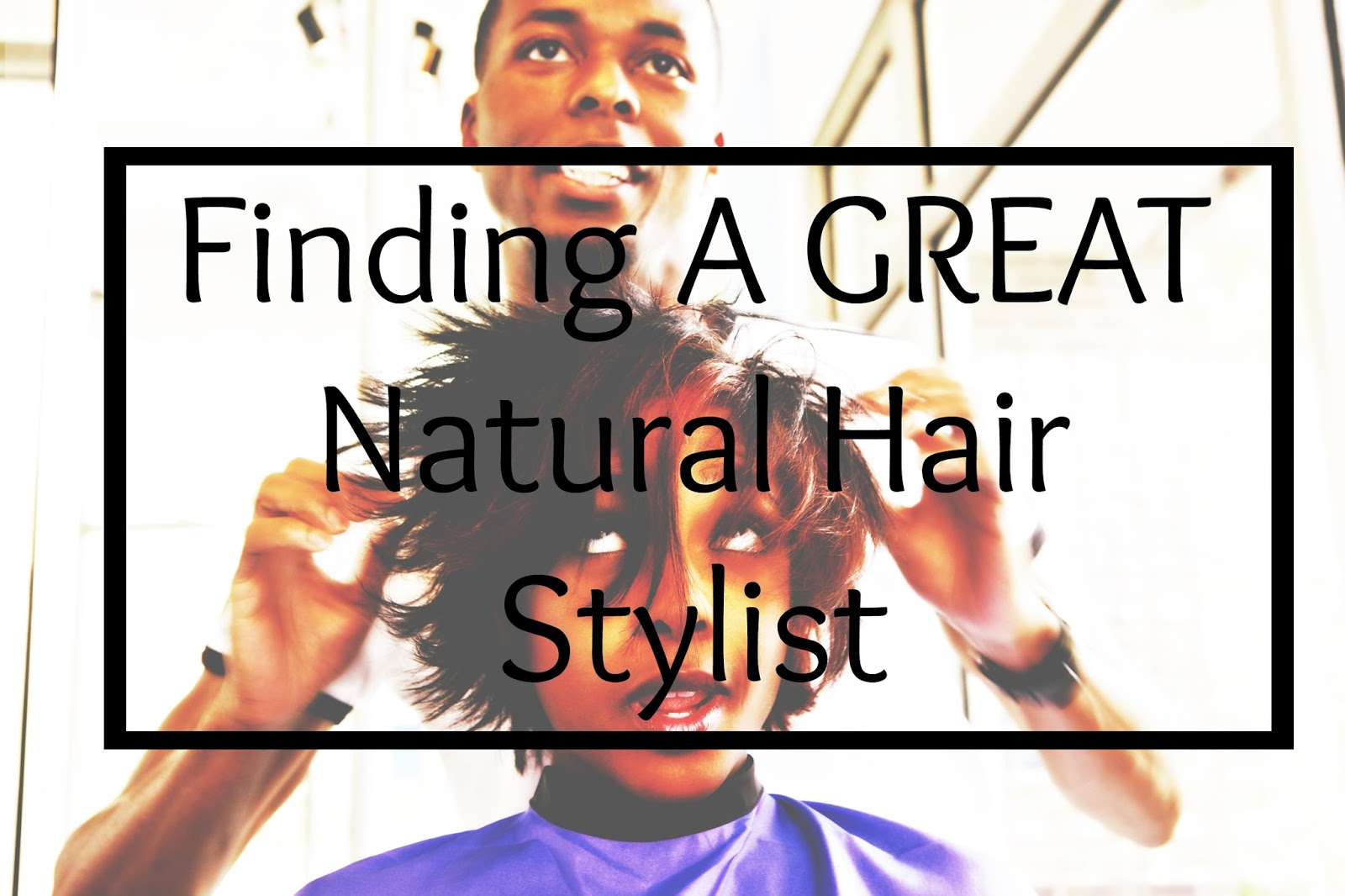 Check out 10 tips for finding a GREAT hair stylist for natural hair! Many black women are leery about going to a salon with natural hair but worry no more!