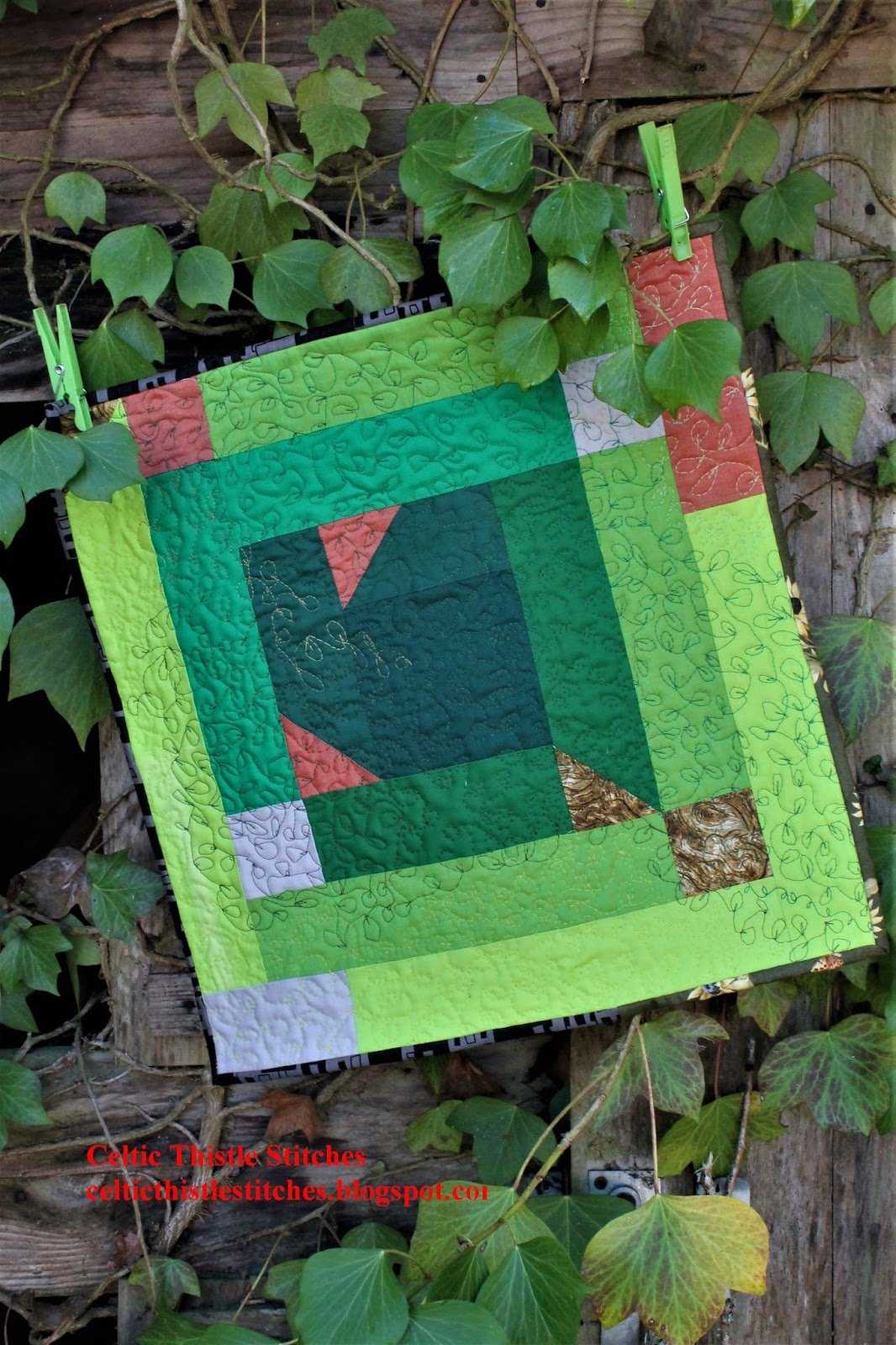 Celtic Thistle Stitches: A Force of Nature : nature quilt - Adamdwight.com
