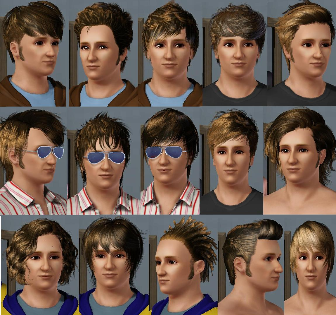 Sims 3 Late Night Male Hairstyles