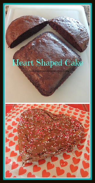 Heart Shaped Cake is a fun way to celebrate Valentine's Day for your family.