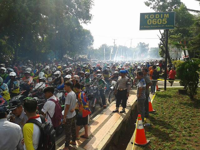 Event SUGAT #1 Gaspoll Bersama Bupati, Dandim dan Kapolres Subang Dimulai