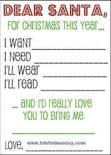 my christmas wish list online