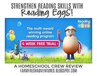 Reading Eggs~ a review (and free 4 week trial!)