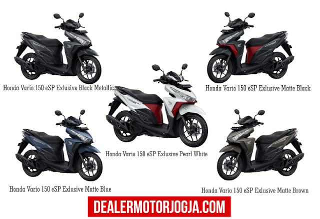 Promo Akhir Tahun Cash - Kredit Honda New Vario 150 Esp Desember 2016 Jogja