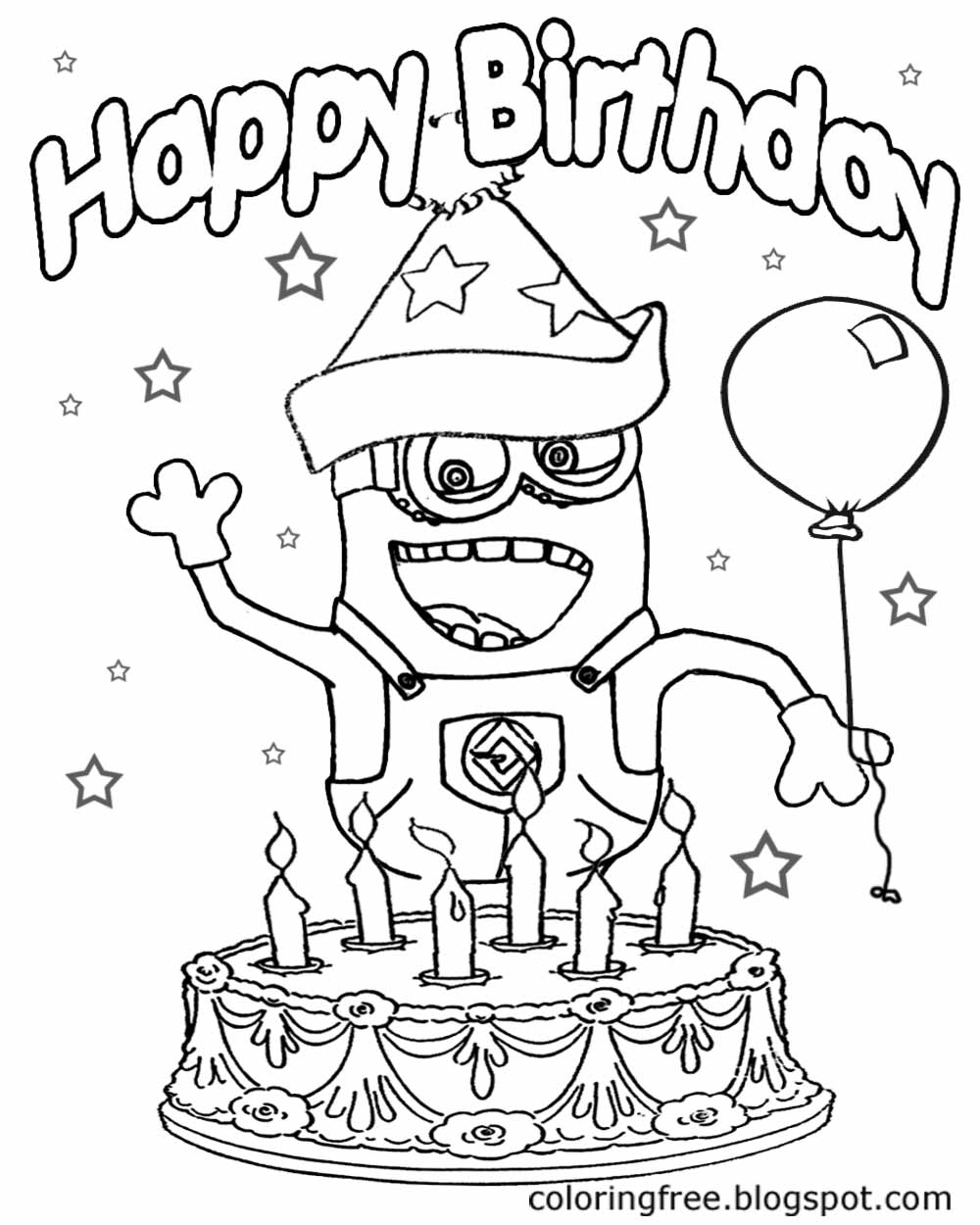 LETS COLORING BOOK Kids Costume Minion Coloring Pages Banana