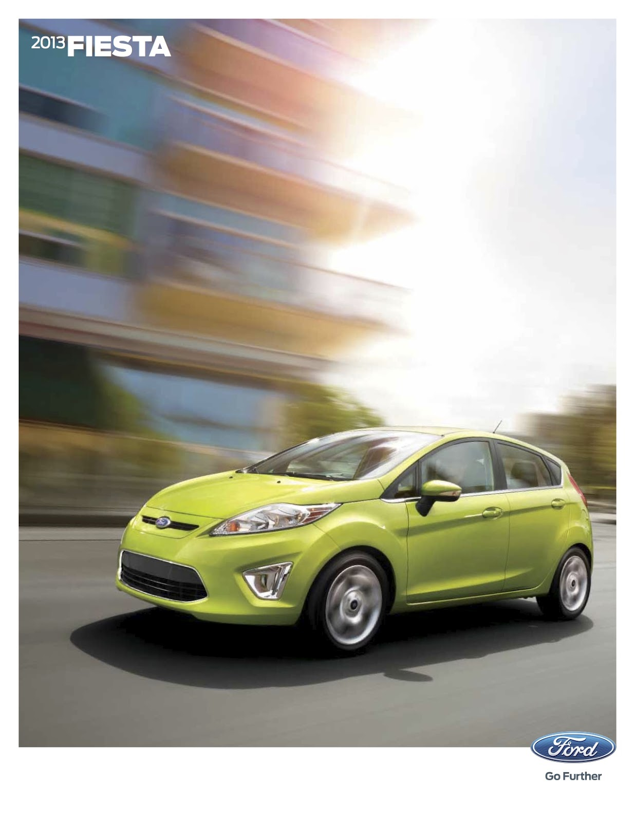 Ford fiesta 2012 brochure pdf uk