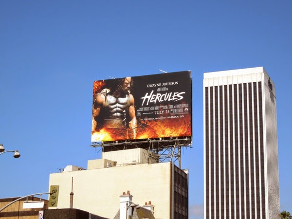 Hercules film billboard