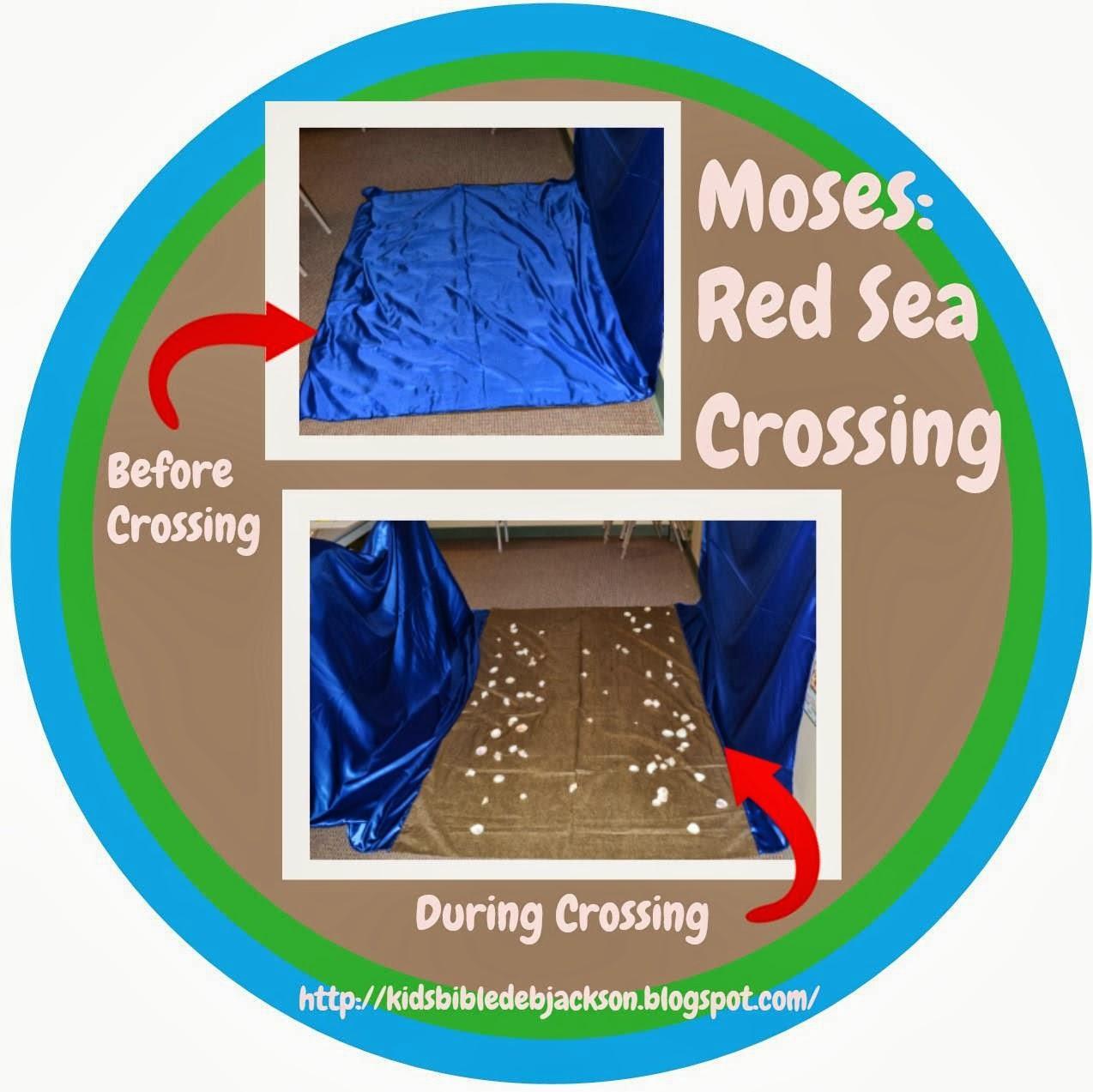bible fun for kids 2 4 moses u0026 the red sea crossing