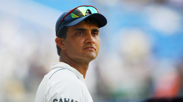 Ganguly hit most sixes