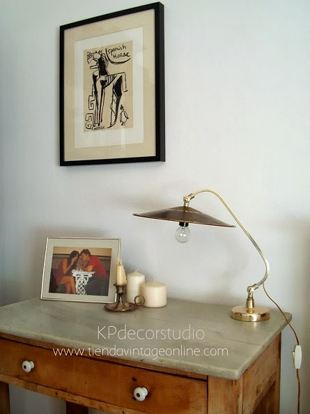 Kp Tienda Vintage Online Flexo De Mesa Antiguo Estilo