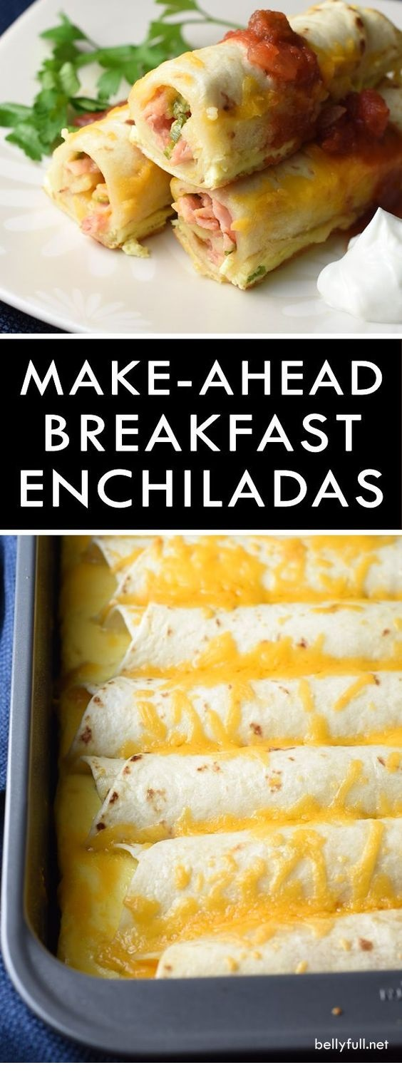 Make-Ahead Breakfast Enchiladas