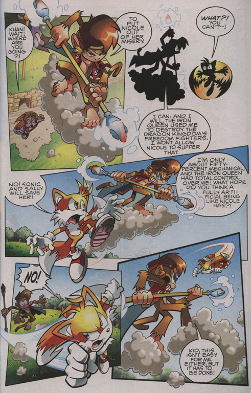 Read online Sonic The Hedgehog comic -  Issue #209 - 15